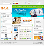 webdesign : accessories, CD, electronic