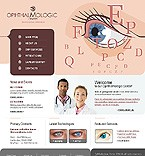 webdesign : ophthalmologic, patient, healthcare