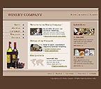 webdesign : wine, cork, restaurant