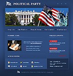webdesign : political, party, chairman