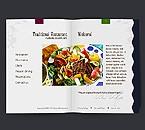 webdesign : reservation, recipe, vegetarian
