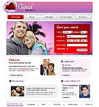 webdesign : Cupid, profile, personal