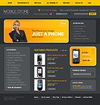 webdesign : LG, Motorola, specials