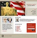 webdesign : campaign, candidates, principles
