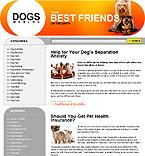 webdesign : dog, gallery, feed