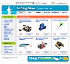 webdesign : shop, fishing, harness