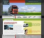 webdesign : highway, van, map