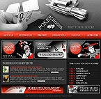 webdesign : clients, baccarat, craps