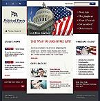 webdesign : Labour, Conservative, Communists