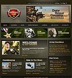 webdesign : recruits, community, guns