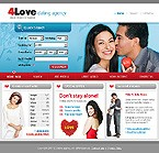 webdesign : dating, agency, sweetheart