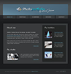 webdesign : photography, gallery, contact