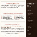 webdesign : constitution, elections, news