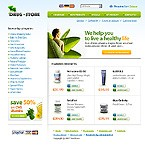 webdesign : online, food, nature