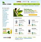 webdesign : store, cure, medicaments