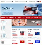 webdesign : flag, osCommerce, Magnets