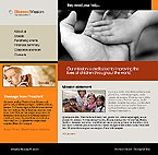 webdesign : mission, non-profit, events