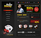 webdesign : poker, participant, bridge