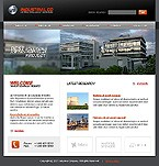 webdesign : industrial, engines, services