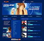 webdesign : disk, player, music