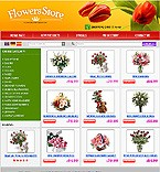 webdesign : lilies, services, rose