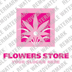 webdesign : flowers, slogan, picture