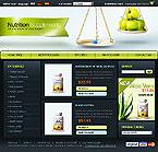 webdesign : store, pills, body