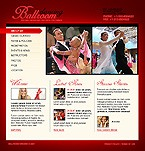 webdesign : club, music, ballroom