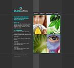 webdesign : webpage, events, animals