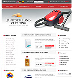 webdesign : cleaning, deodorants, cleaner