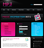 webdesign : mp3, bands, topics