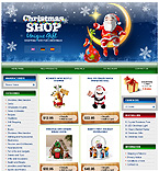 webdesign : Santa, baskets, apparel
