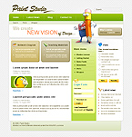 webdesign template 18077