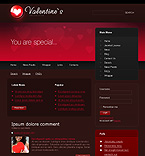 webdesign : Valentine, accessory, cards
