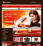 webdesign : presents, toys, candle
