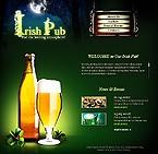 webdesign : pub, waiter, plates