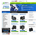 webdesign : shop, technology, raynox