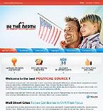 webdesign : party, leader, information