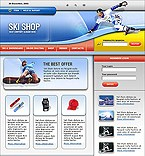 webdesign : skis, bike, running