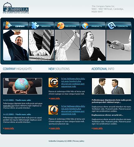 webdesign : Big, Screenshot 20120