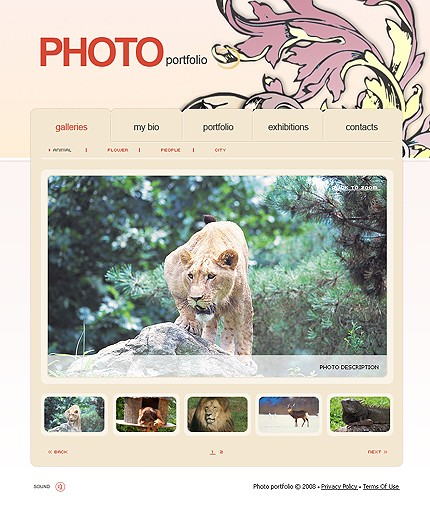 webdesign : Big, Screenshot 20160