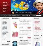 webdesign : children, boutique, napkin