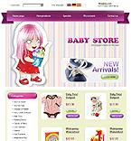 webdesign : shop, swaddling, band