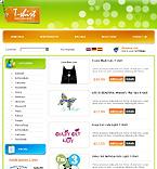 webdesign : shop, outwear, wear