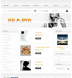 webdesign : CD, player, order