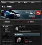 webdesign : air, battery, car