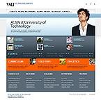 webdesign : department, enrolment, dean