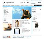webdesign : online, wear, footwear