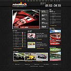 webdesign : members, racing, freeway