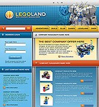 webdesign : legoland, kids, playing